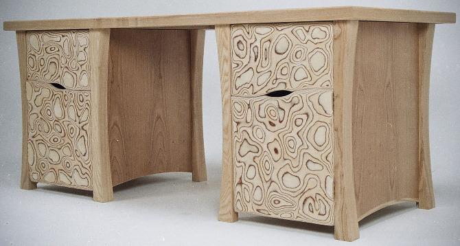 Birch Plywood Cherry Veneered Board